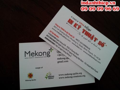 In ấn nhanh name card thực hiên tại Công ty TNHH In Kỹ Thuật Số