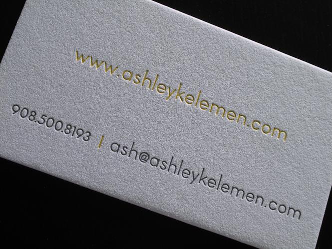 In name card, danh thiếp cho nhóm người tham vọng