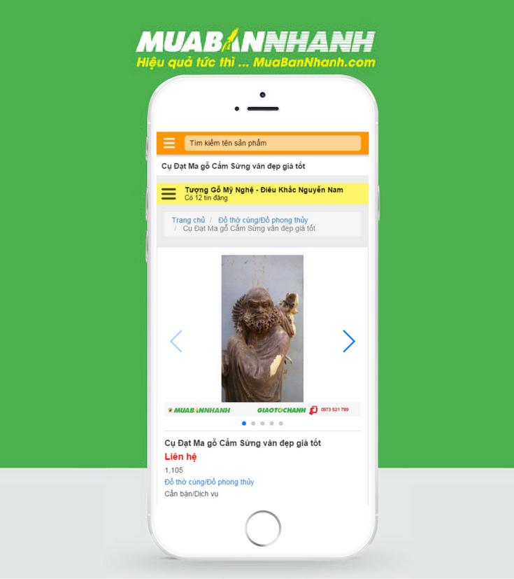 PhonePage của nghệ nhân Nguyễn Nam 0973521789.muabannhanh.com